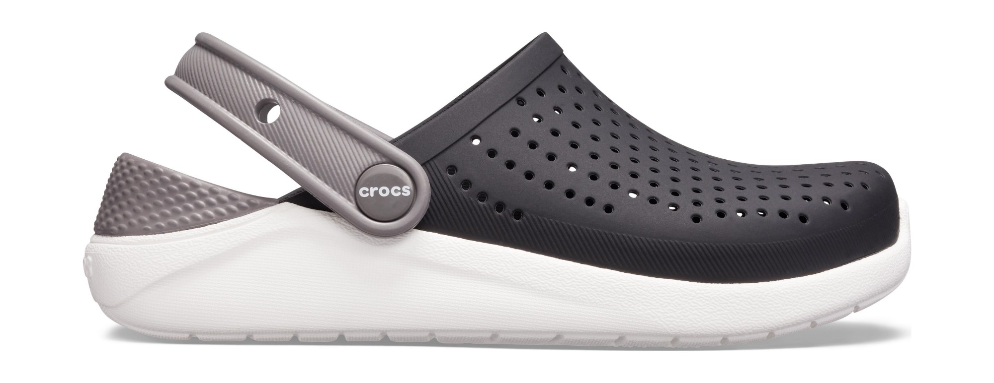 Crocs™ LiteRide Clog Kid's Black/White 36,5