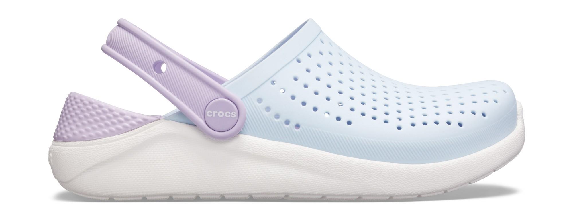 Crocs™ LiteRide Clog Kid's Mineral Blue/White 36,5