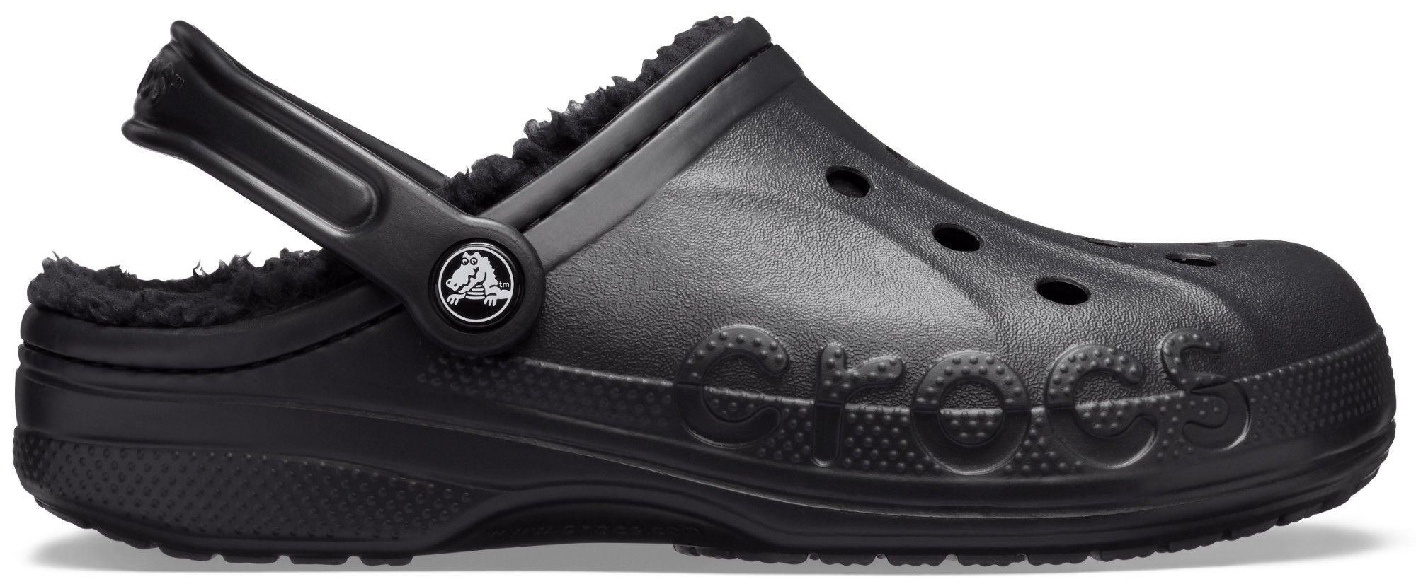 Crocs™ Baya Lined Clog Black/Black 43,5