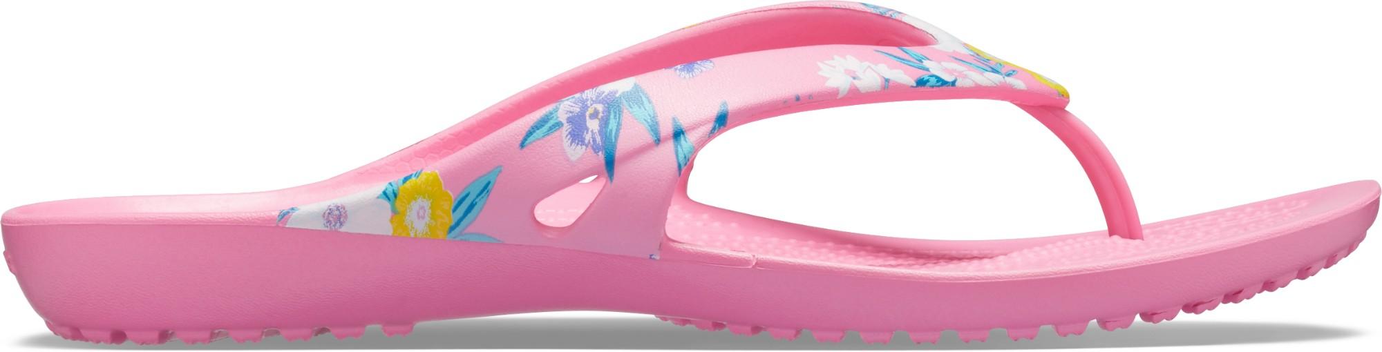 Crocs™ Kadee II Printed Flip Women's Tropical Floral/Pink Lemonade 38,5