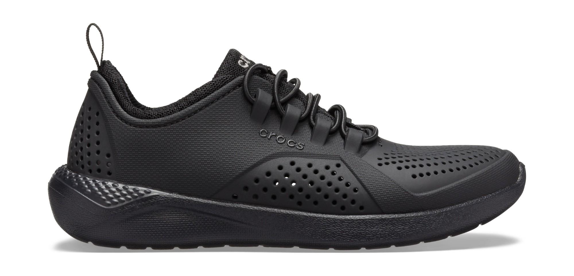 Crocs™ LiteRide Pacer Kid's Black/Black 28