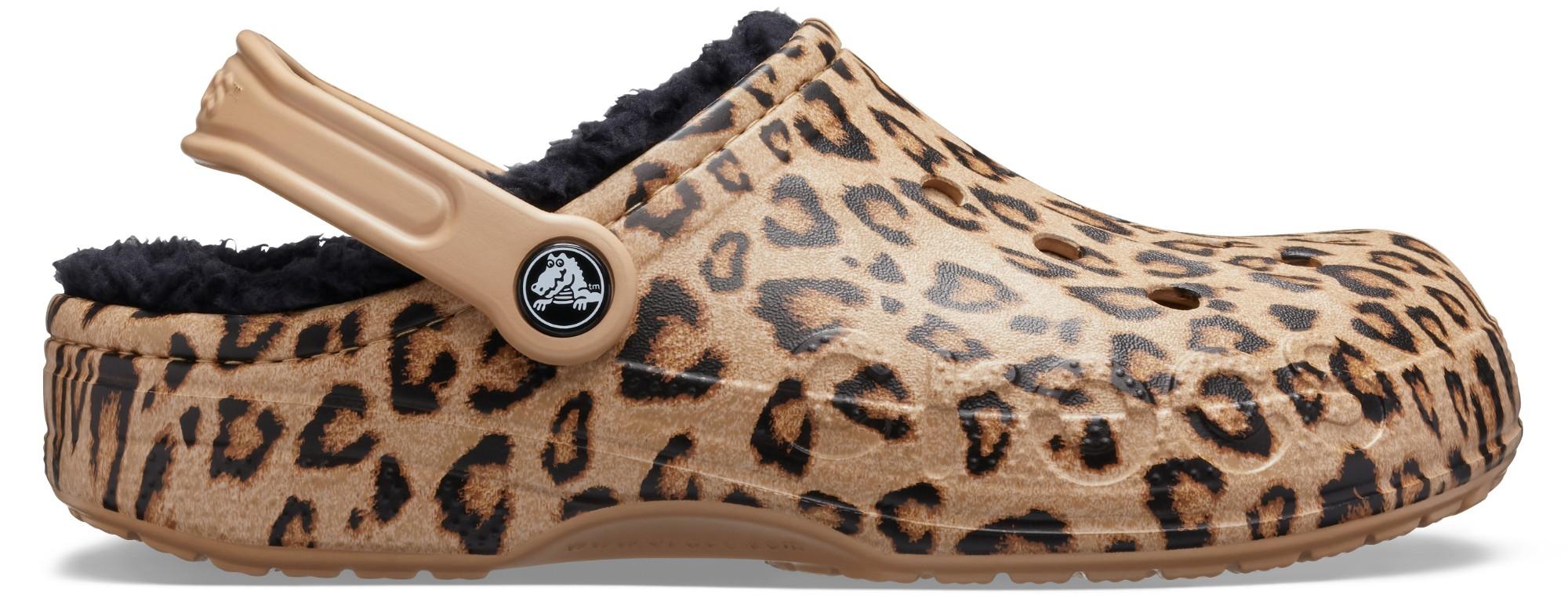 Crocs™ Baya Lined Printed Clog Leopard/Gold 37,5
