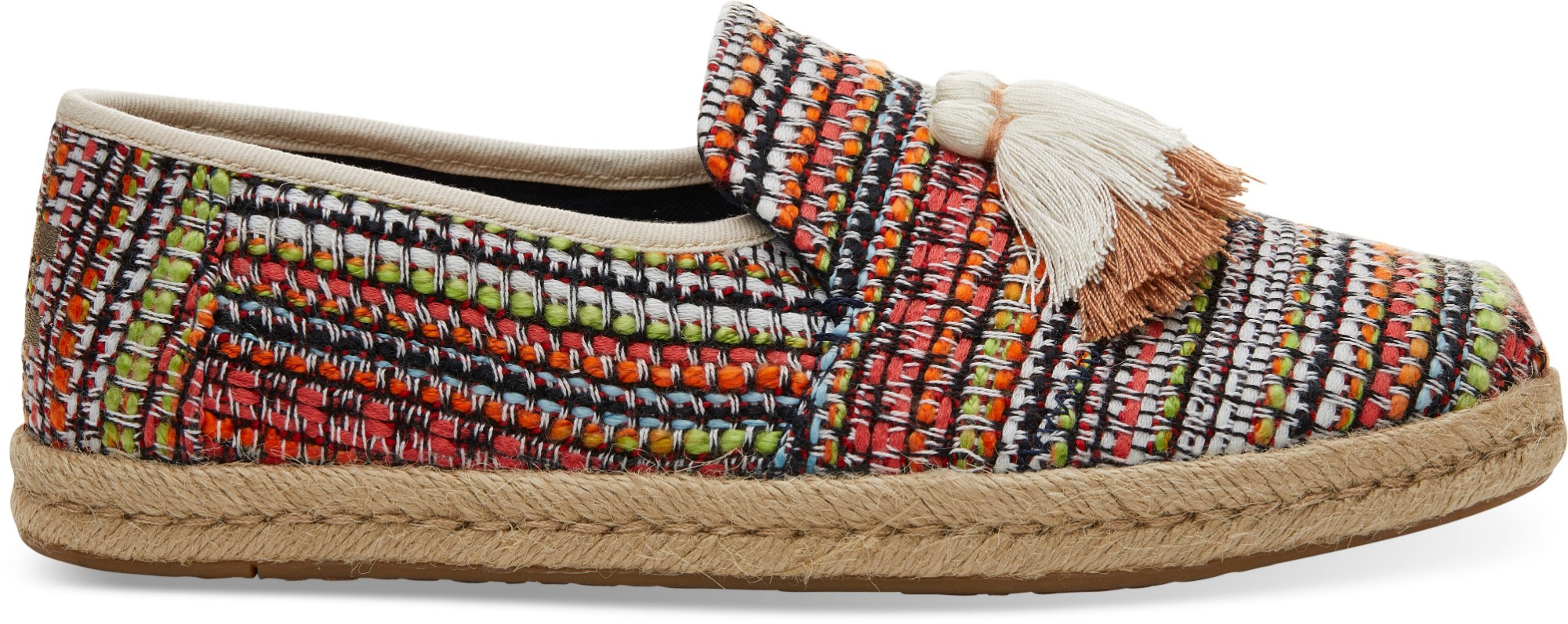 TOMS Global Woven Women's Deconstructed Alpargata Cherry Tomato 36,5