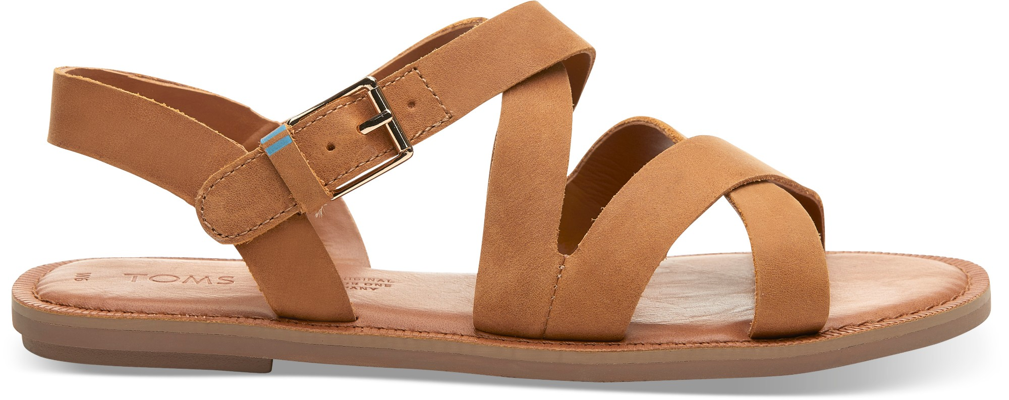 TOMS Leather Women's Sicily Tan 40