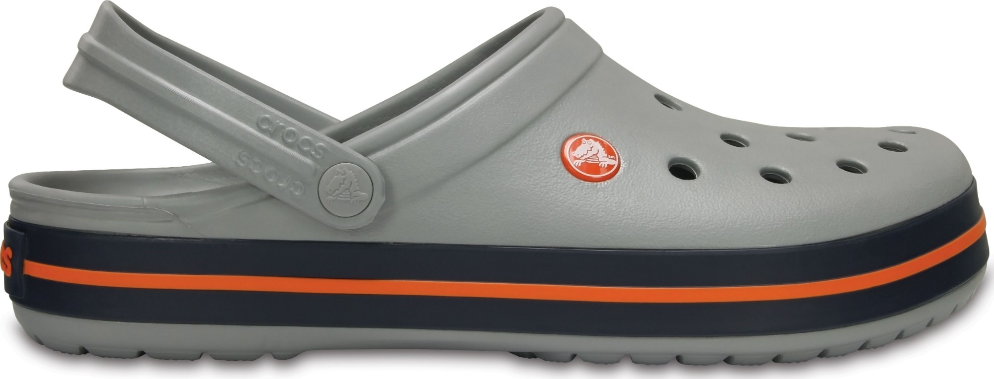 Crocs™ Crocband™ Light Grey/Navy 44,5