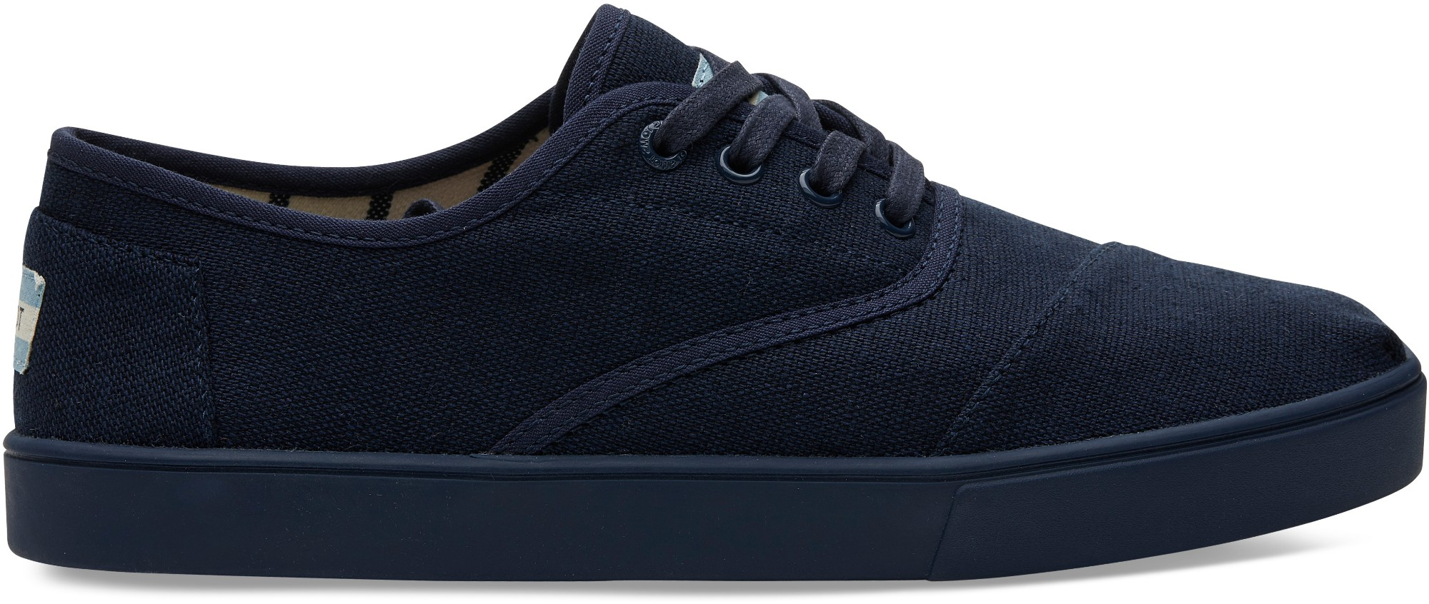 TOMS Heritage Canvas Men's Cordones Cupsole Navy 43