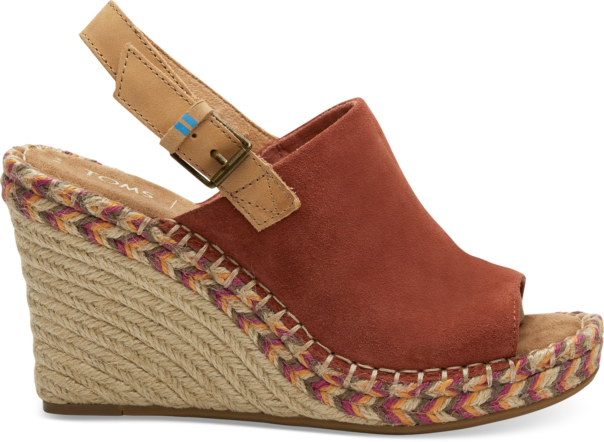 TOMS Suede Leather Women's Monica Spice 37,5