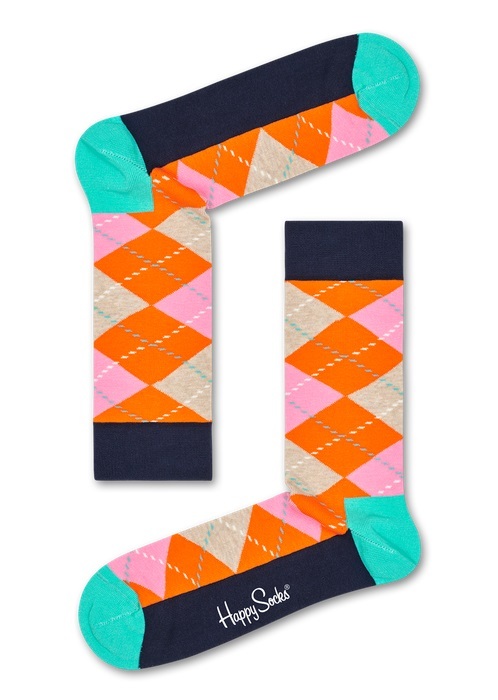 Happy Socks Argyle Multi 2700 36-40