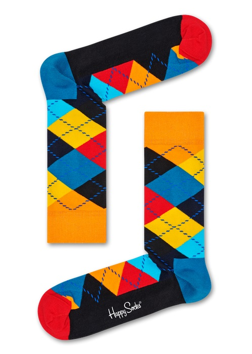Happy Socks Argyle Multi 0100 36-40
