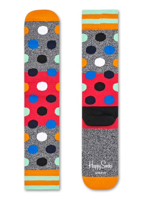 Happy Socks Athletic Big Dot Block Multi 9700 36-40