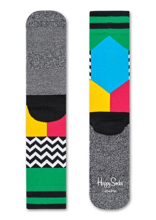 Happy Socks Athletic Blocked Multi 7300 36-40