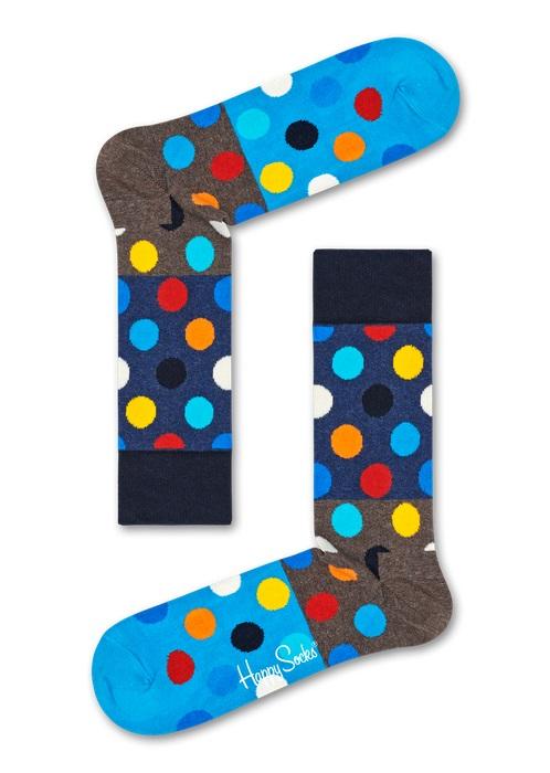Happy Socks Big Dot Block Multi 8300 41-46
