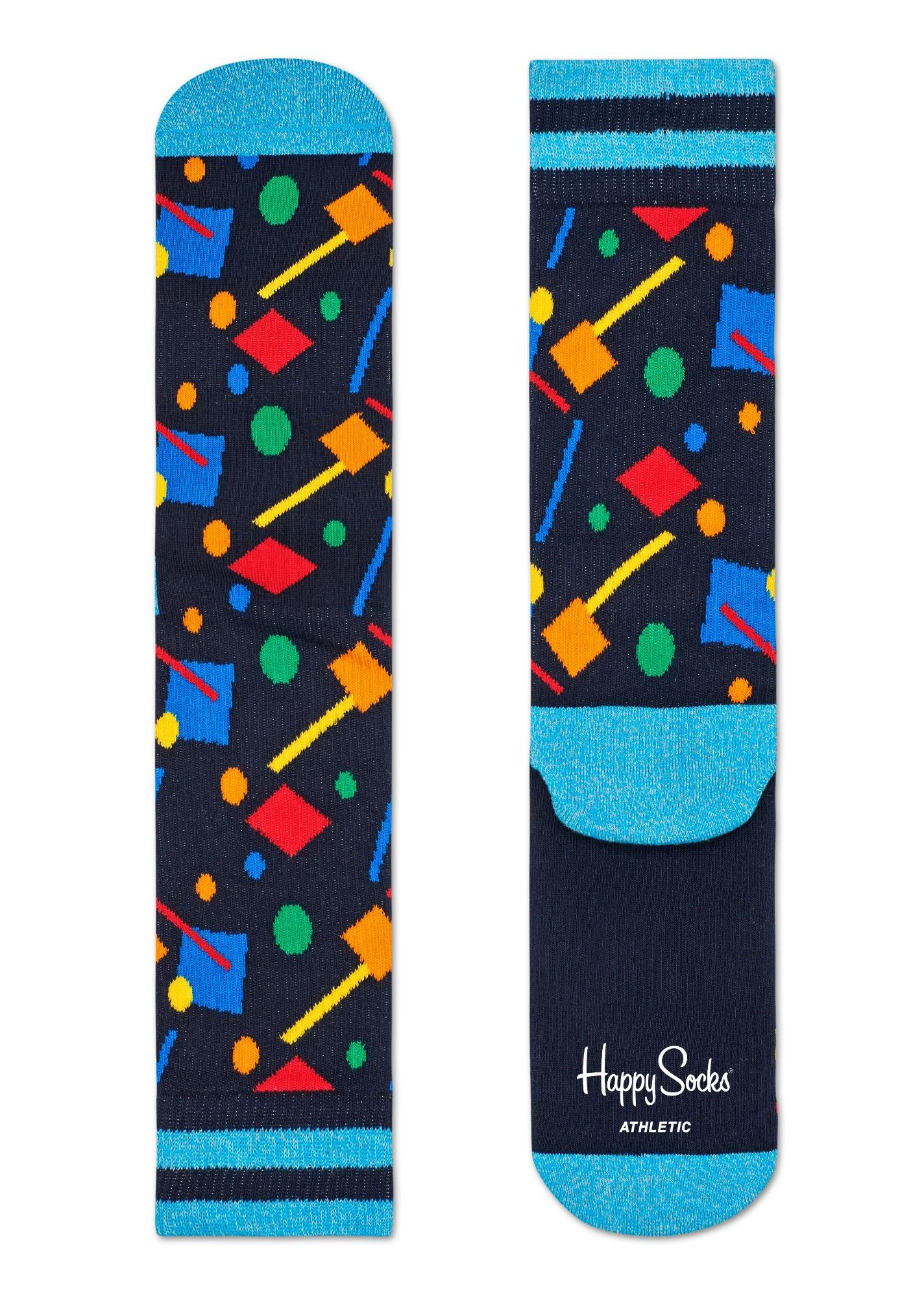 Happy Socks Athletic Confetti Multi 6500 36-40