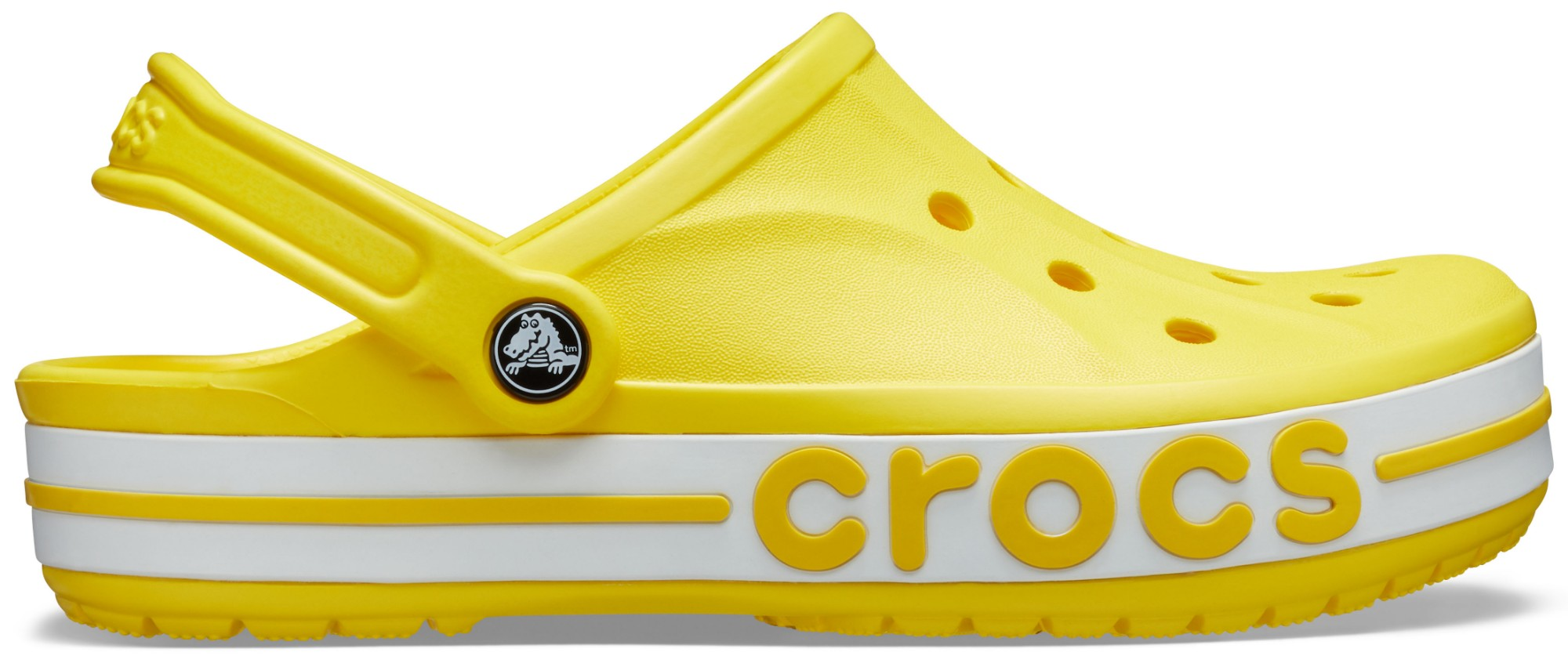 Crocs™ Bayaband Clog Lemon/White 45,5