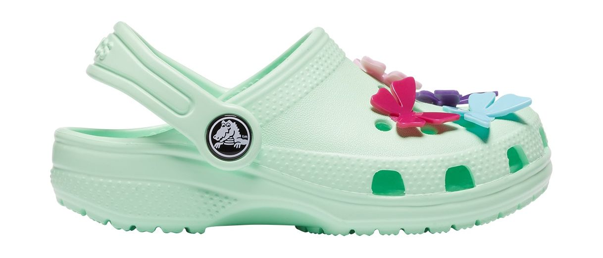 Crocs™ Classic Butterfly Charm Clog PS Neo Mint 27