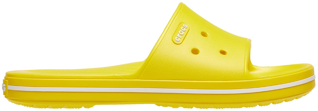 Crocs™ Crocband III Slide Lemon/White 41