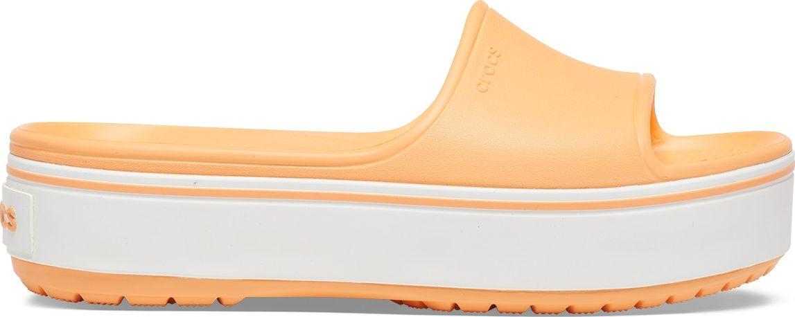 Crocs™ Crocband Platform Slide Cantaloupe/White 41