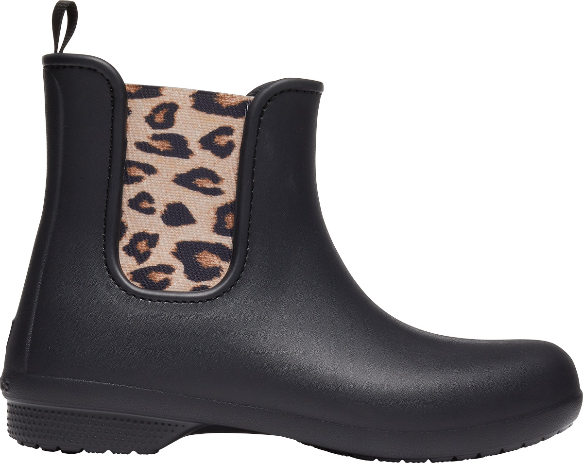Crocs™ Freesail Chelsea Boot Leopard/Black 39,5