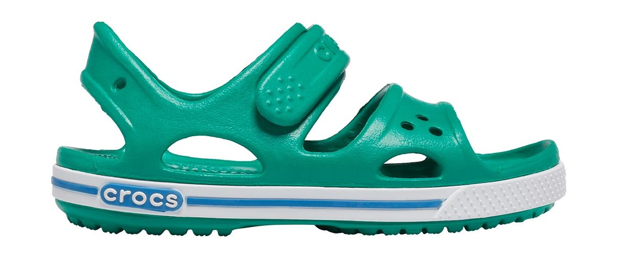 Crocs™ Kids' Crocband II Sandal PS Deep Green/Prep Blue 25