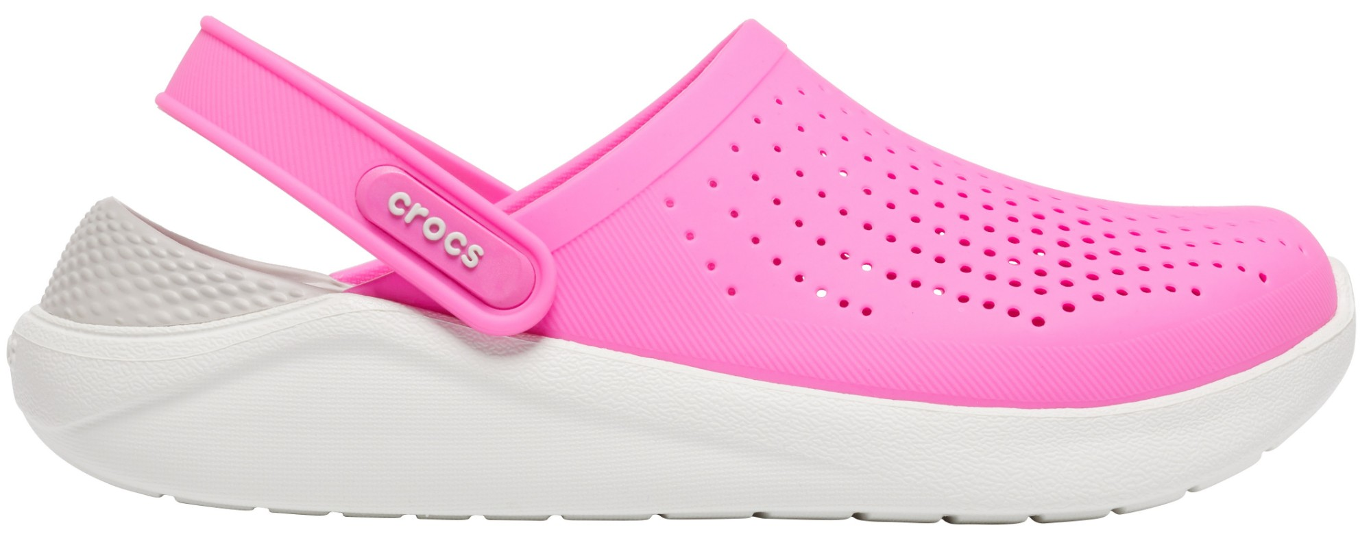 Crocs™ LiteRide Clog Electric Pink/Almost White 36,5