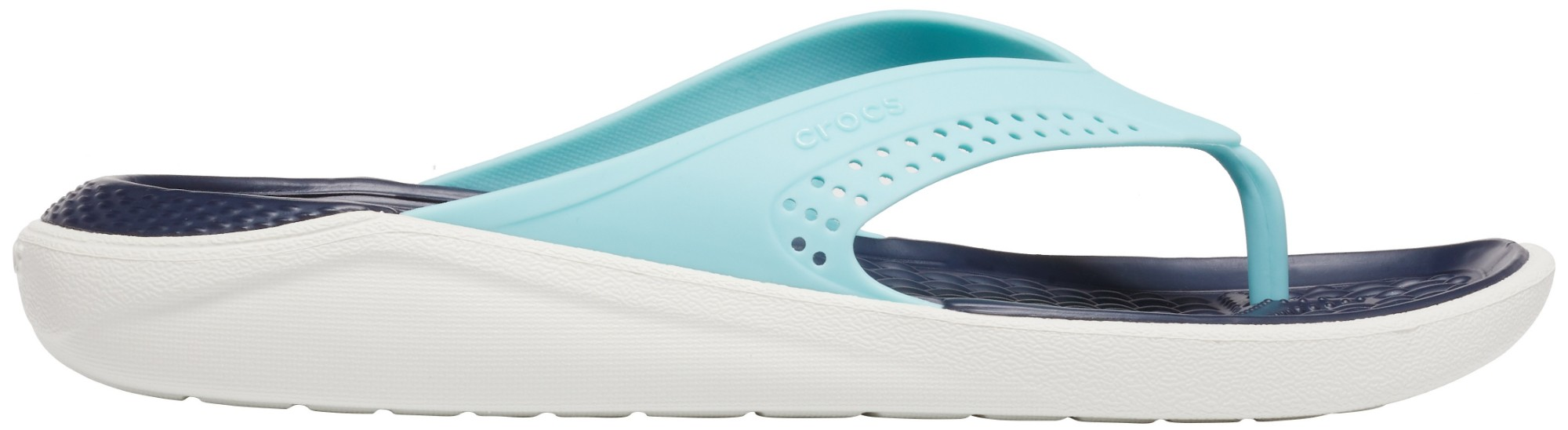 Crocs™ LiteRide Flip Ice Blue/Almost White 39,5