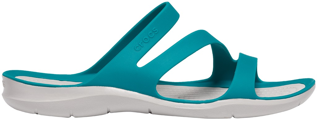 Crocs™ Women's Swiftwater Sandal Juniper/Pearl White 42,5