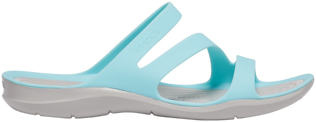 Crocs™ Women's Swiftwater Sandal Ice Blue/Pearl White 38,5