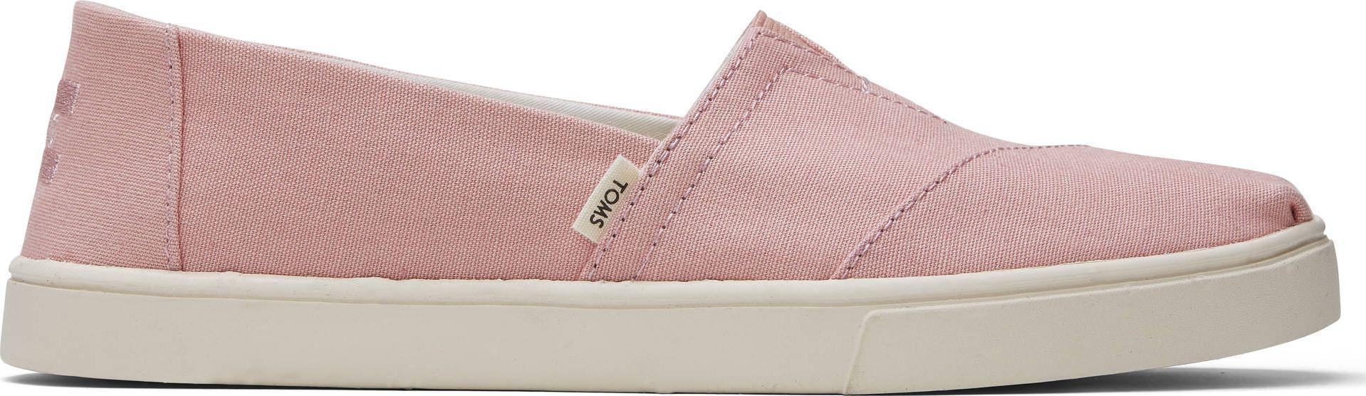 TOMS Plant Dyed Canvas Women's Alpargata Pink 37,5