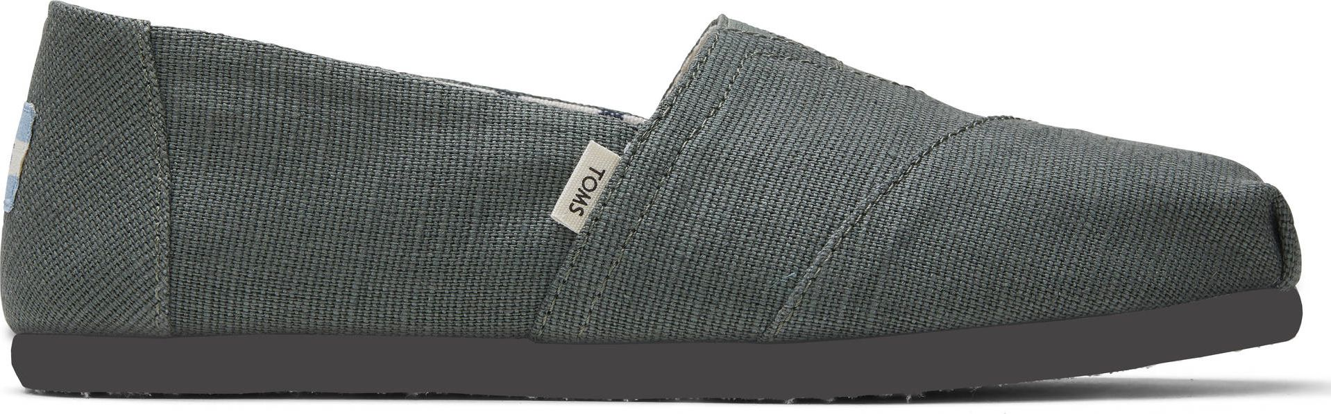 TOMS Bonsai Heritage Canvas Men's Alpargata Olive 44
