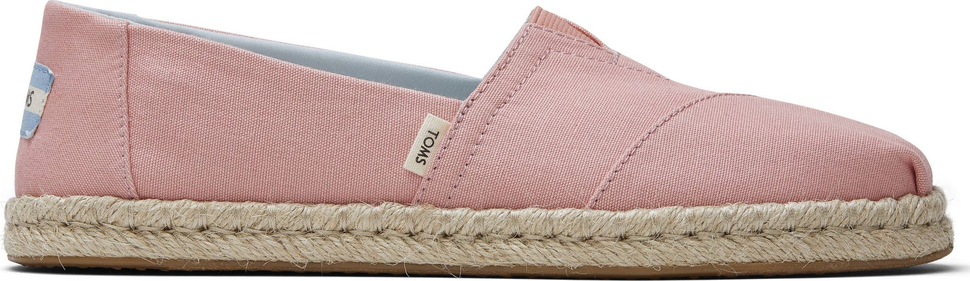TOMS Plant Dyed Canvas Rope Women's Alpargata Pink 40