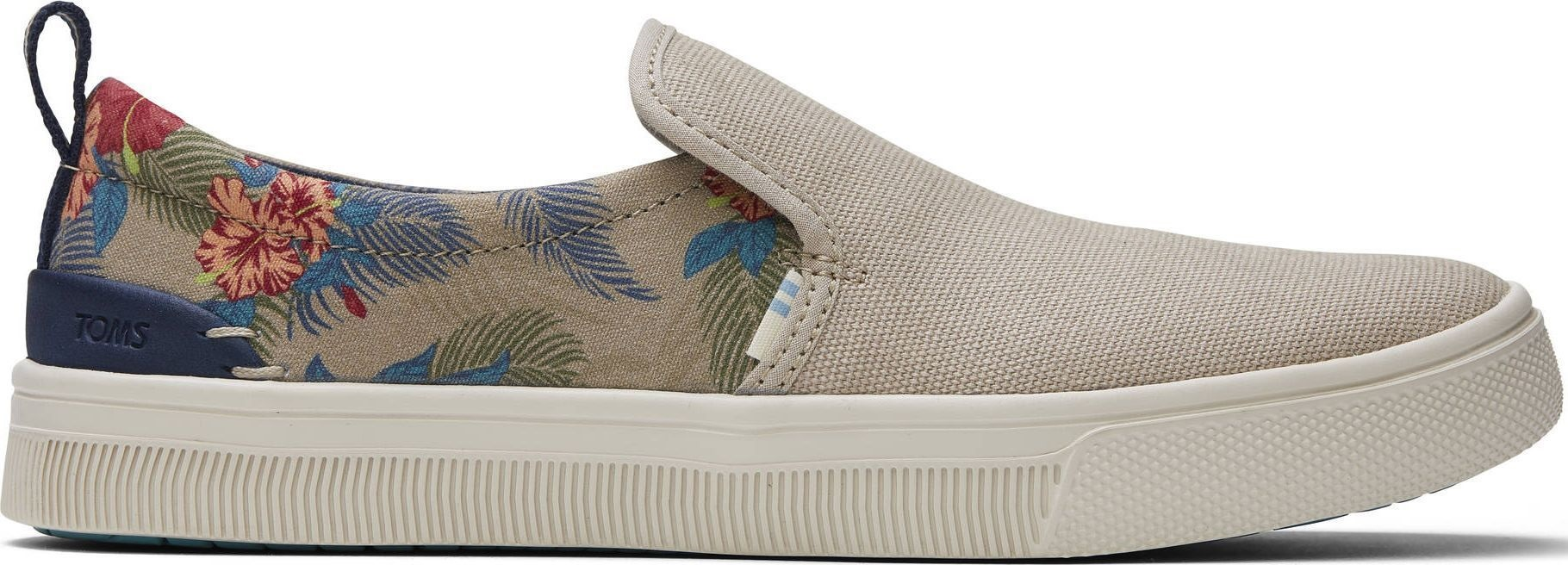 TOMS Oxford Tropical Print Women's Trvl Lite Natural 41