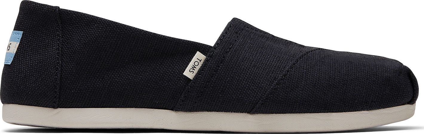 TOMS Heritage Canvas Women's Alpargata Black 37