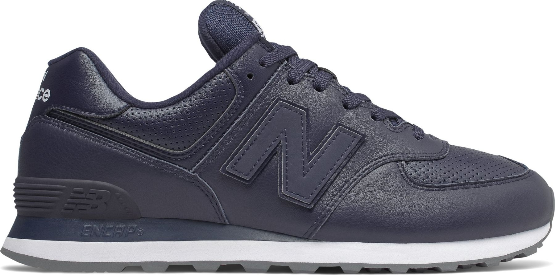 New Balance ML574 T2 Navy/White 45