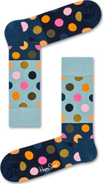 Happy Socks Big Dot Block Multi 6002 36-40