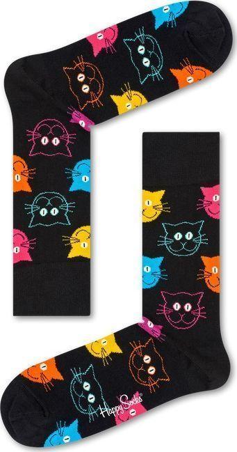 Happy Socks Cat Multi 9001 41-46