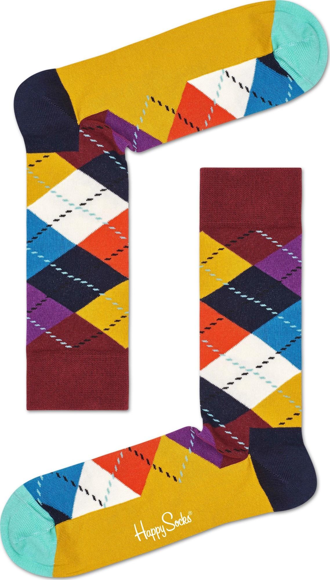 Happy Socks Argyle Multi 2701 36-40
