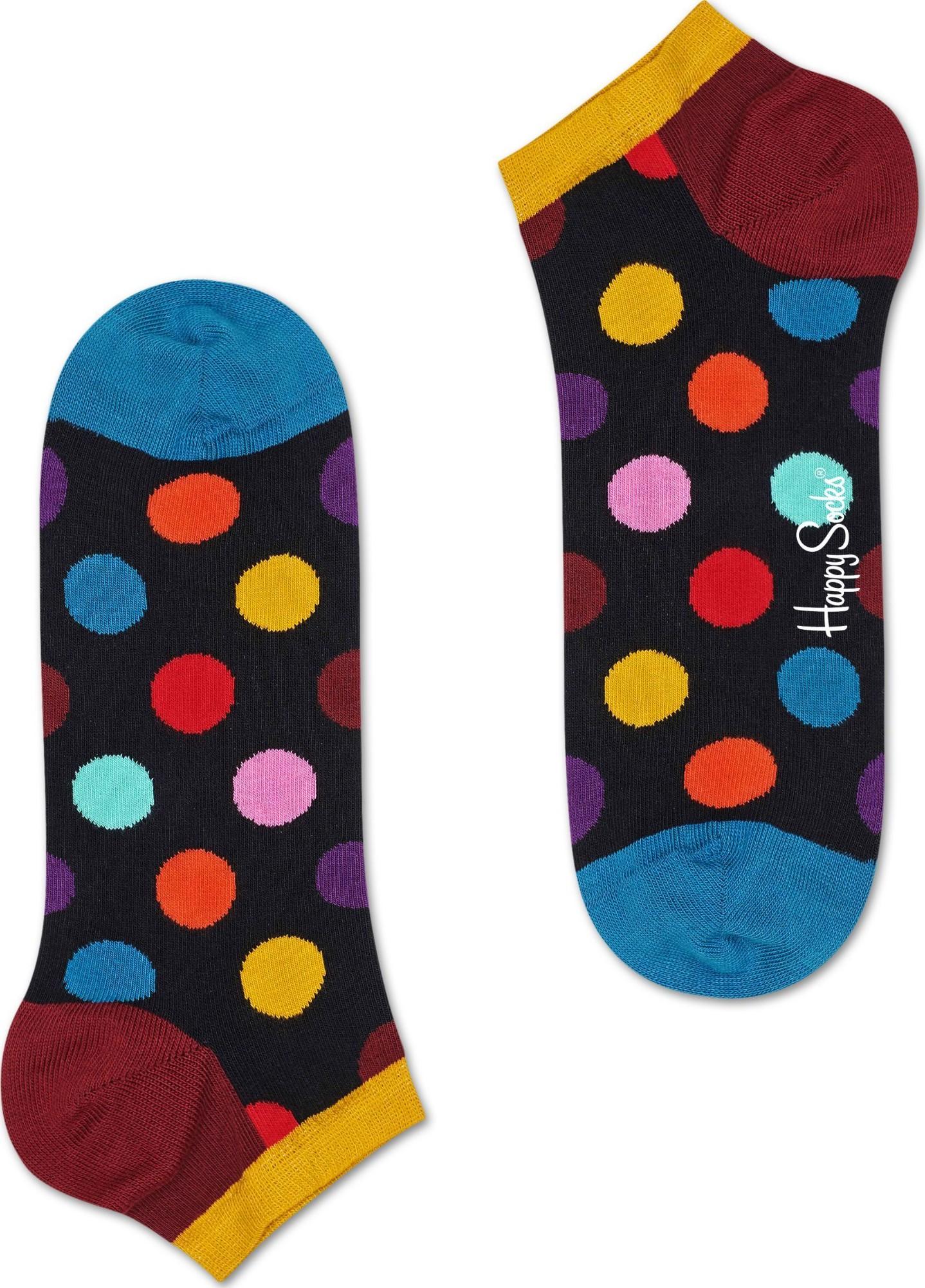 Happy Socks Big Dot Low Multi 0100 41-46