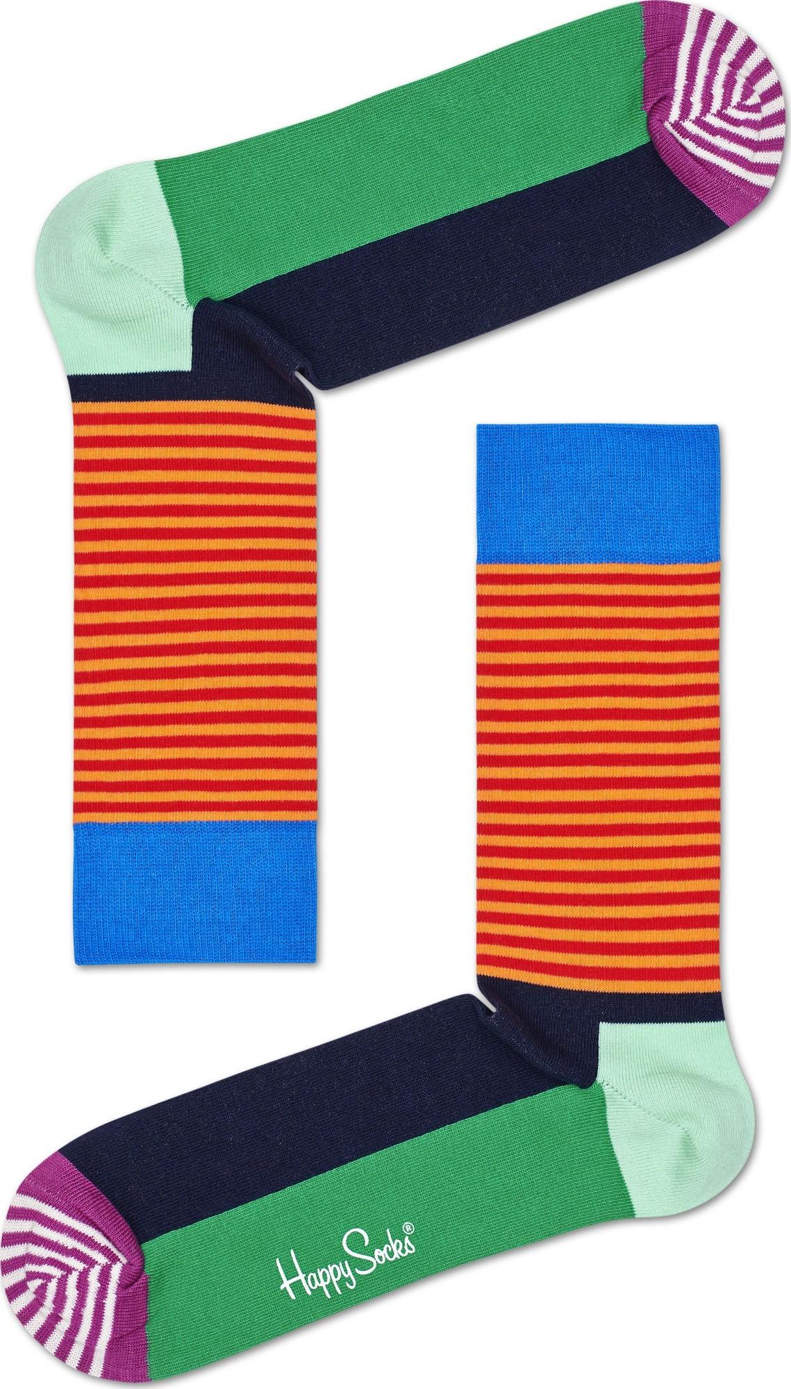 Happy Socks Half Stripe Multi 7300 41-46