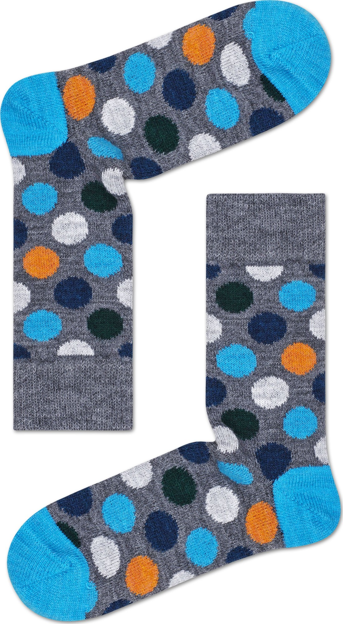 Happy Socks Wool Big Dot Block Multi 9700 36-40