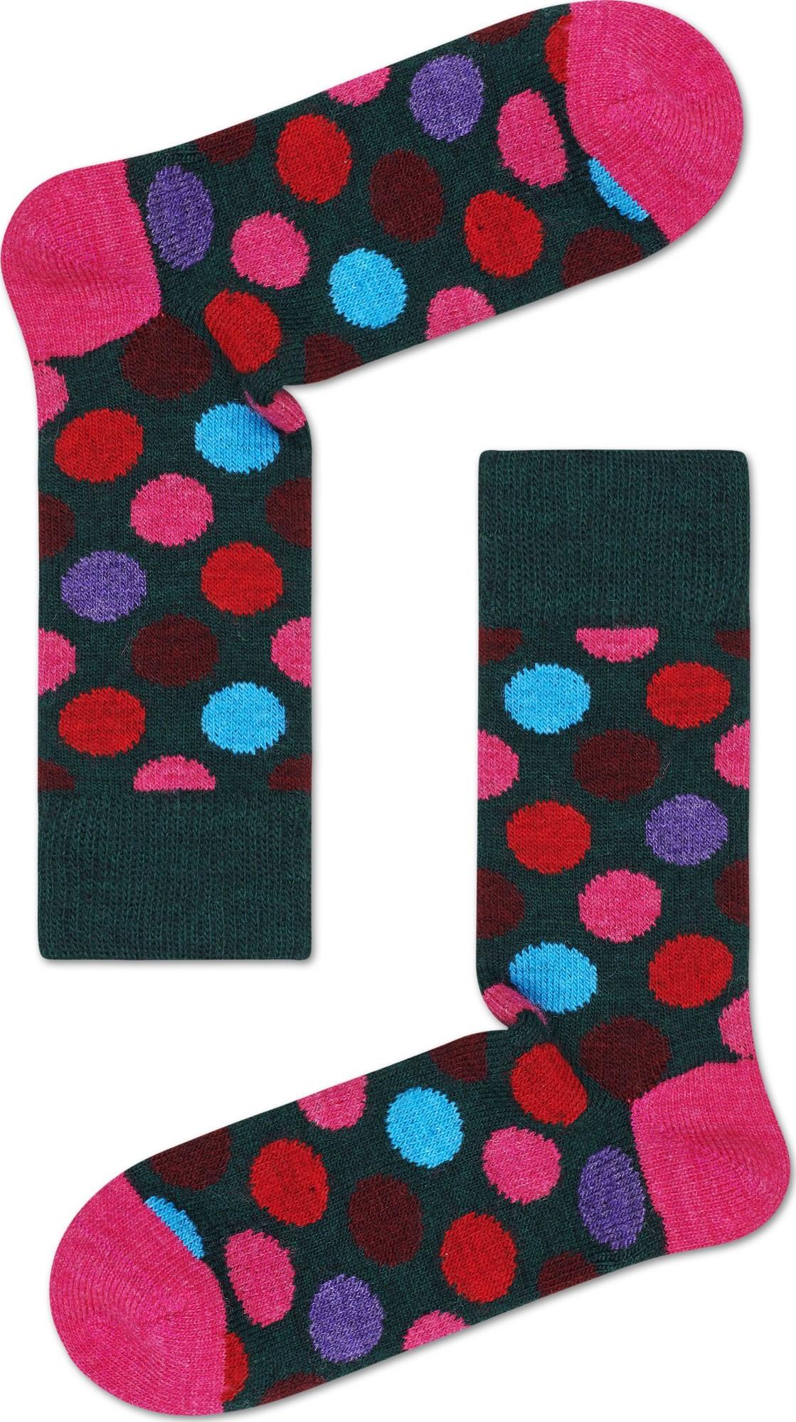 Happy Socks Wool Big Dot Multi 7300 36-40