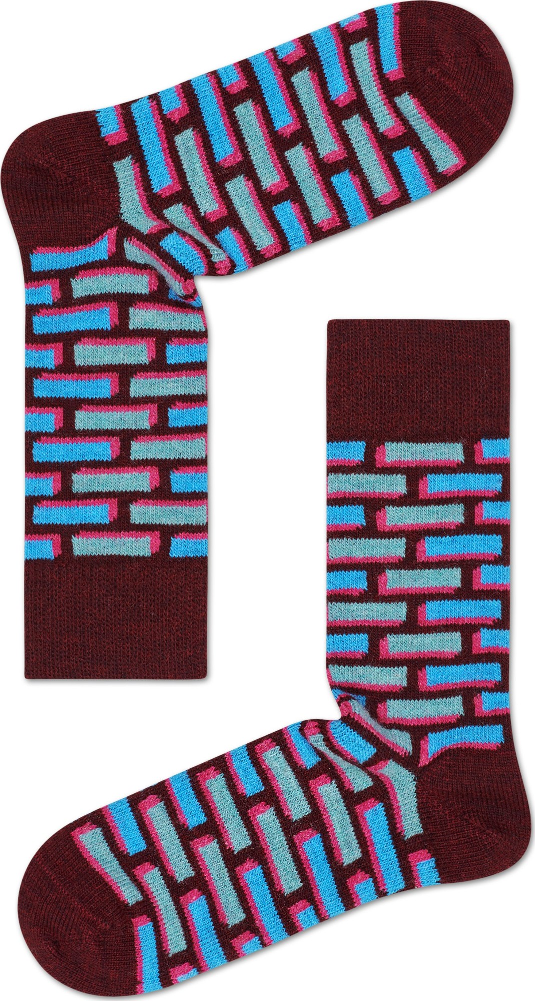 Happy Socks Wool Brick Multi 6700 41-46