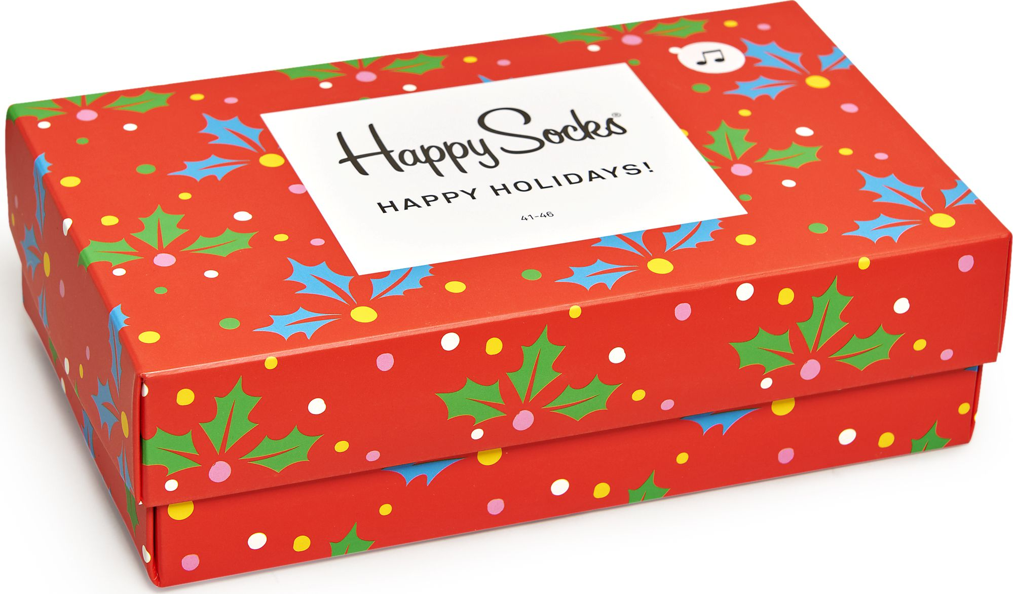 Happy Socks Playing Holiday Gift Box Multi 6500 41-46