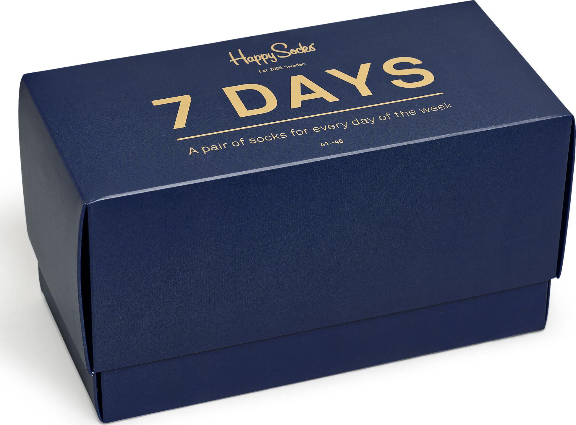 Happy Socks 7-Day Gift Box Multi 0101 41-46