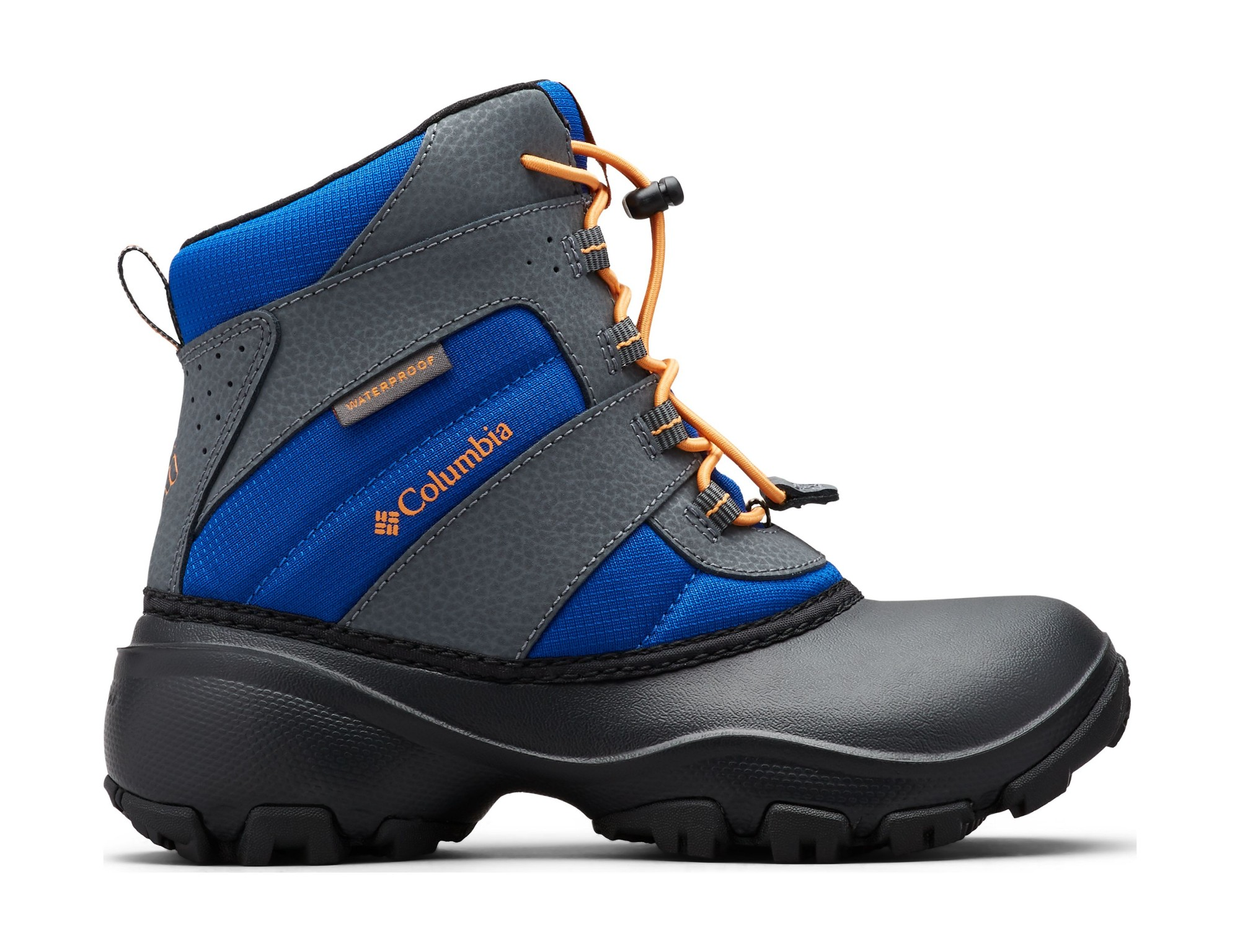 Columbia Rope Tow III Waterproof by1322 Azul/Orange Blast 33