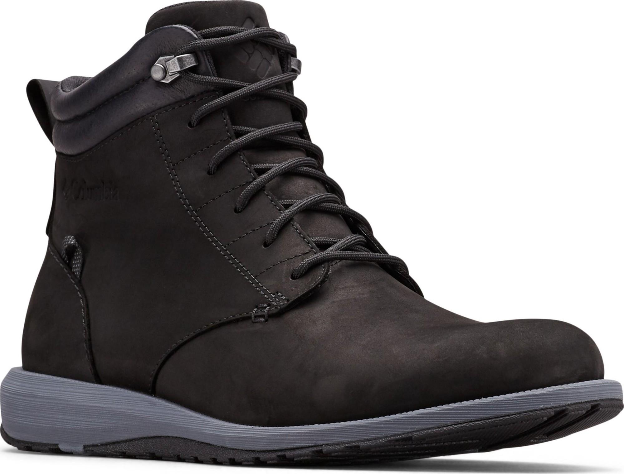 Columbia Grixsen Boot Waterproof Black/Graphite 31