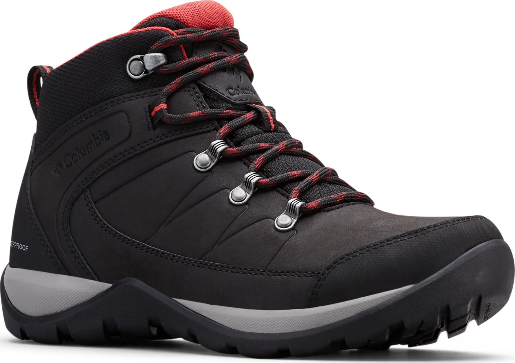 Columbia Fire Venture L Mid II Waterproof Black/Daredevil 41