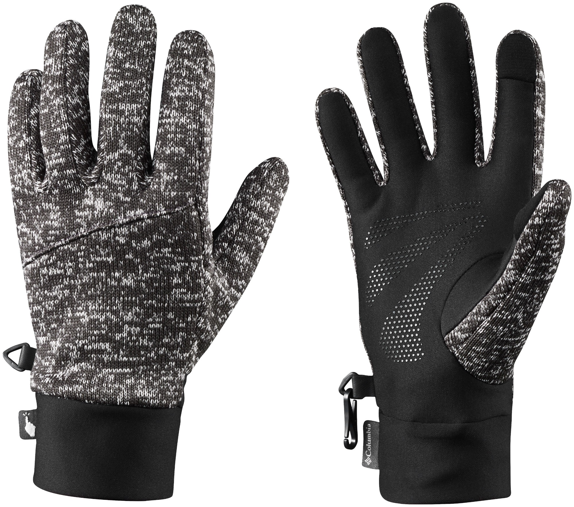 Columbia Birch Woods Glove Men's Shark/Black XL