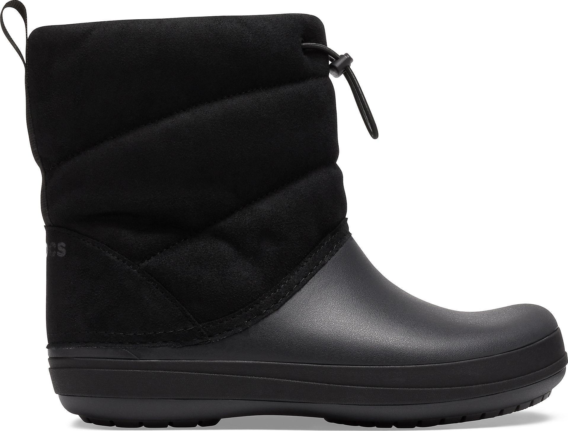 Crocs™ Crocband Puff Boot Women's Black 39,5