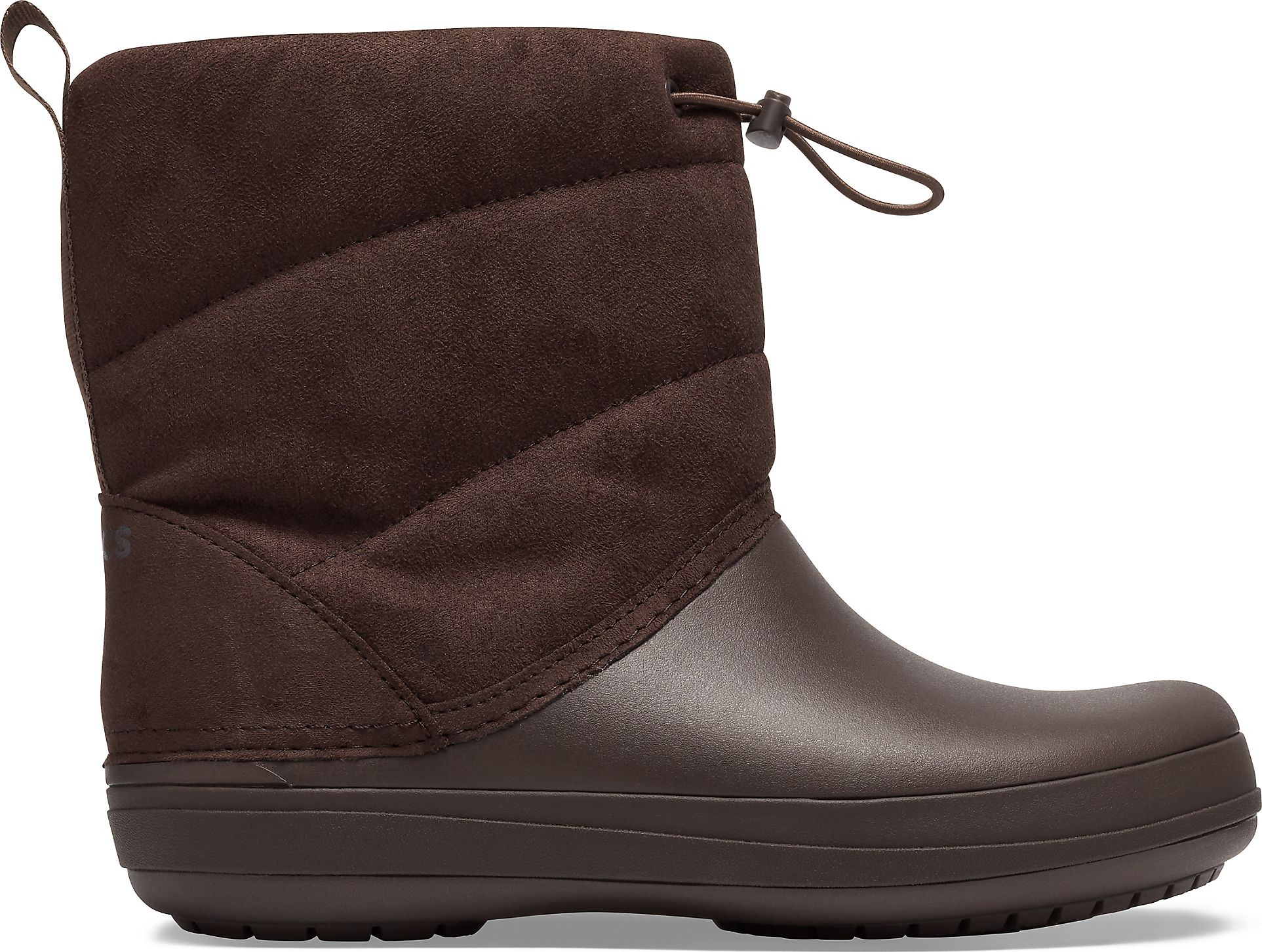 Crocs™ Crocband Puff Boot Women's Espresso 35