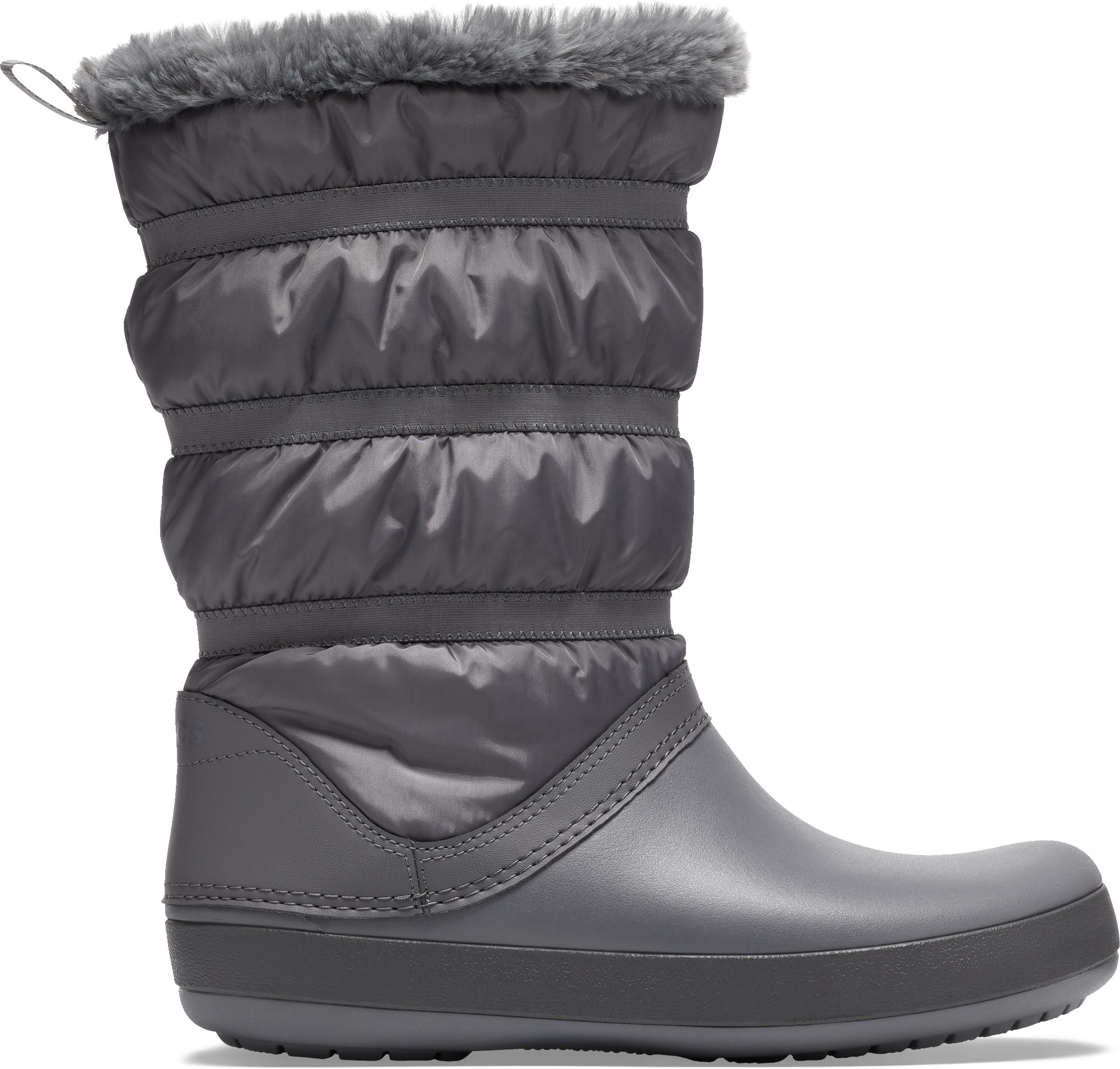 Crocs™ Women's Crocband Winter Boot Charcoal 38,5